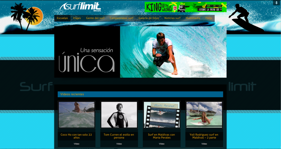 pagina web Cantabria JACMEDIA