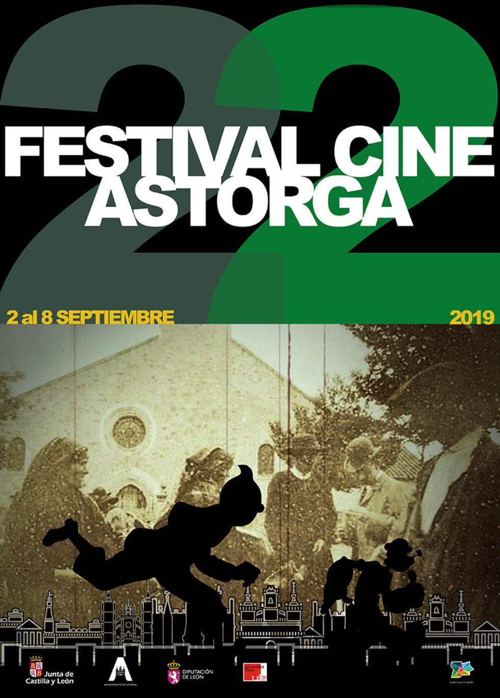 Seleccionados en la 22º edición del Festival de Cine de Astorga