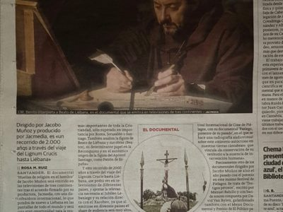 """Nuestra película """"HUELLAS DE LA RELIGIÓN EN EL HOMBRE"""" firma un contrato de distribución en TV para 3 continentes."""
